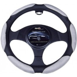 9050 Ergo Supreme Steering Wheel Cover Small Grey/Black