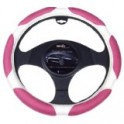 9054 Ergo Supreme Steering Wheel Cover Medium Pink/Cream
