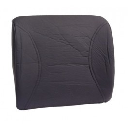9081 Leatherette Lumbar Support Black