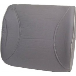 9082 Leatherette Lumbar Support Grey