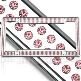License2Bling VIP-Chrome-Pink