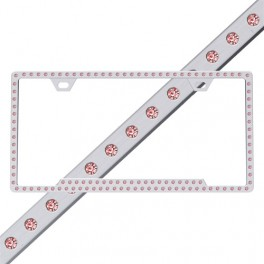 License2Bling Slim-Chrome-Pink