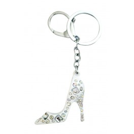 9669 White Stilleto Key Chain
