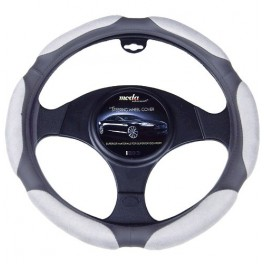 9045 Ergo Supreme Steering Wheel Cover Medium Grey