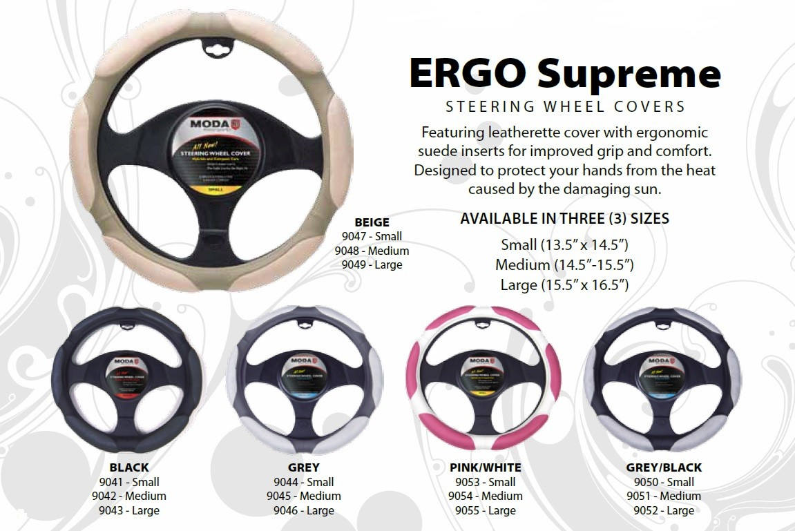 Ergo Supreme Steering Wheel Covers