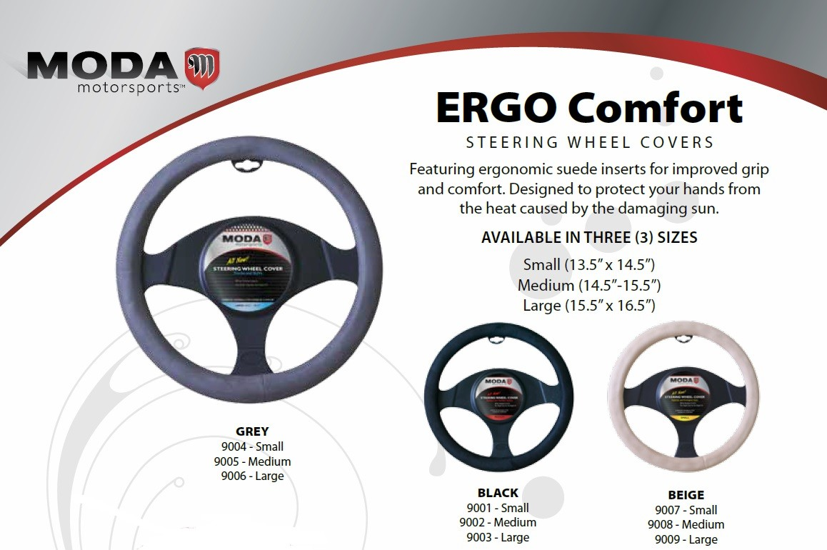 Moda Ergo Comfort Steering Wheel Covers