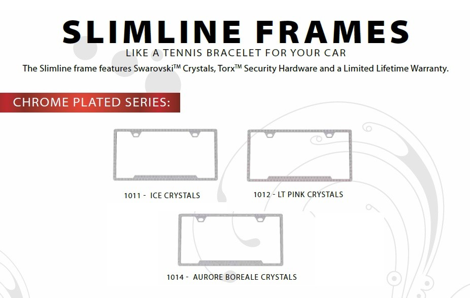 License2Bling Slimline Frames